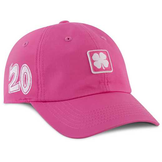 K021348: Hat-Black Clover 20 Lucky For U #4-Adjustable-Pink